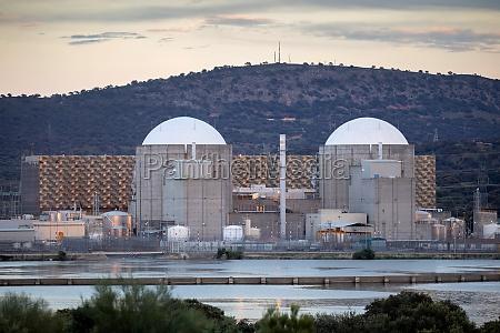 kernkraftwerk im zentrum spaniens