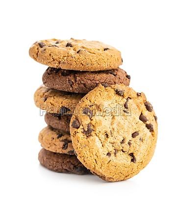 chip cookie lebensmittel schokolade keks suess