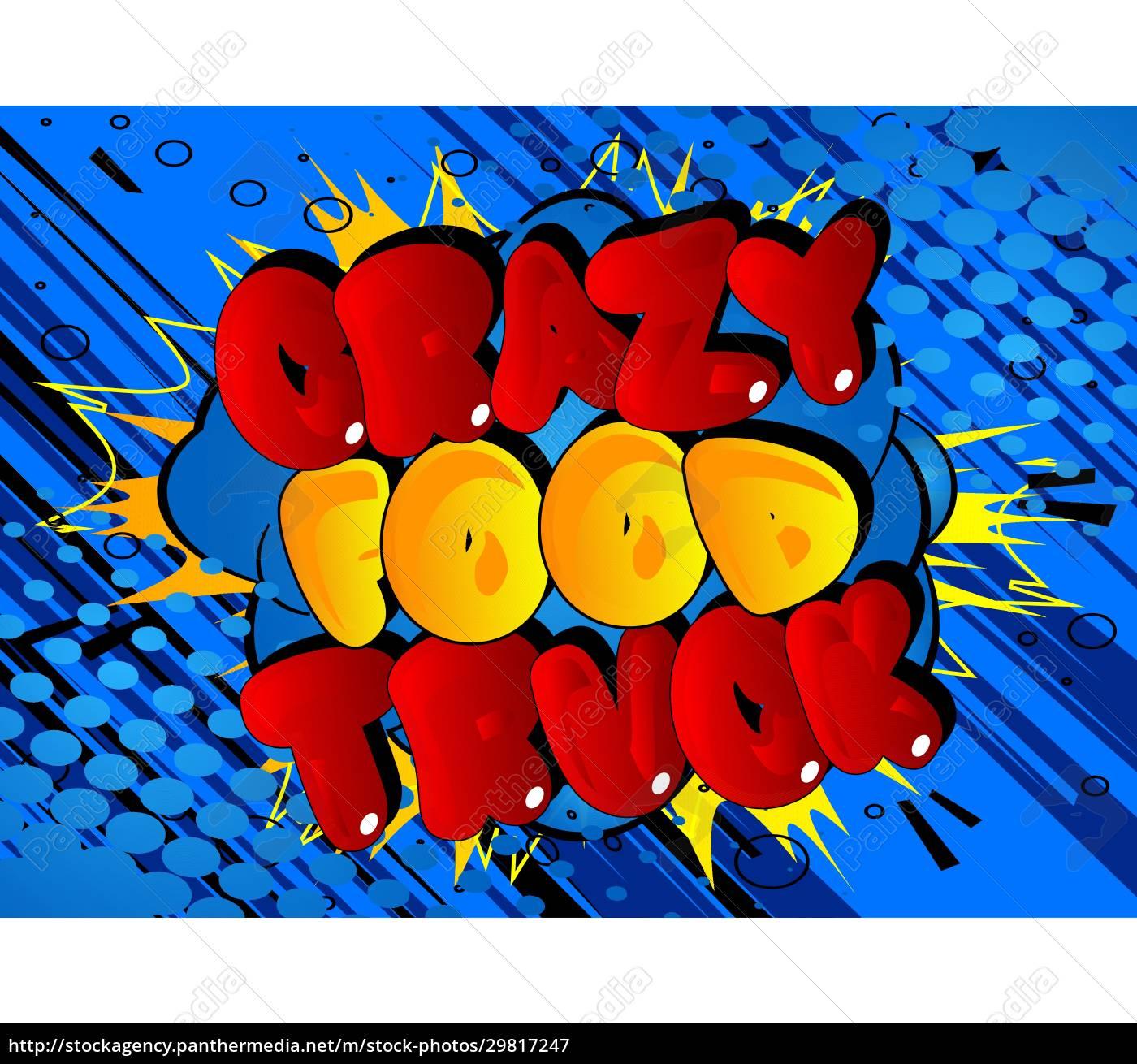 crazy, food, truck, -, comic-buch-stil-text. - 29817247