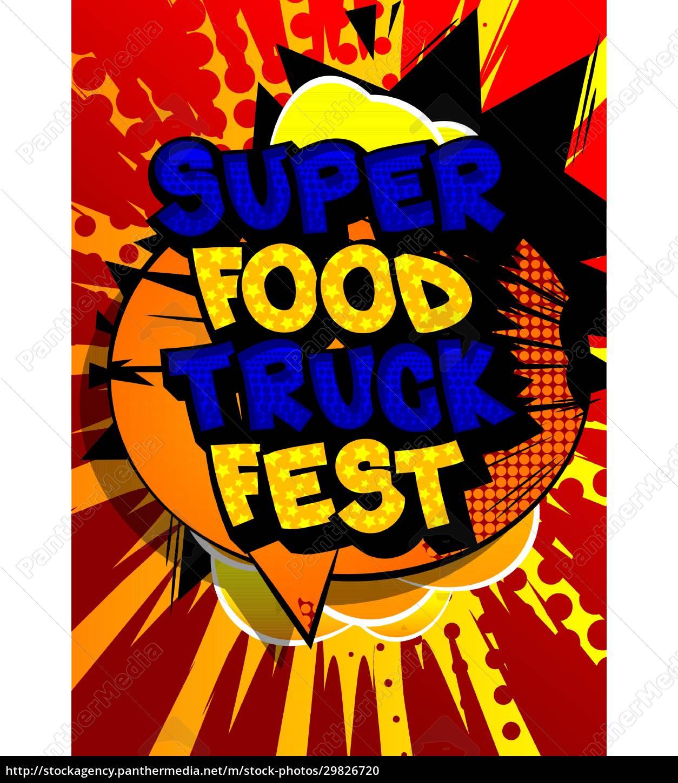 super, food, truck, fest, -, comic - 29826720