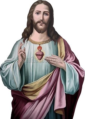 jesus christus heilige liebe frieden glaube