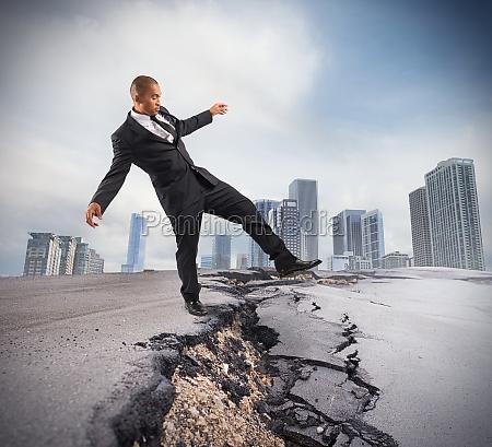 UEberwindung einer krisenpause