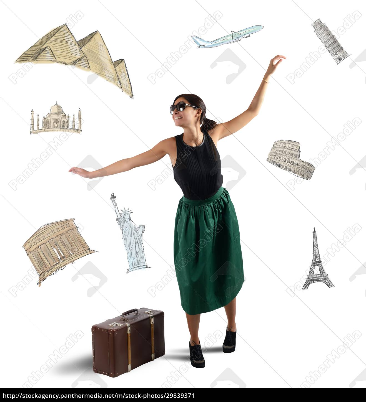 dreamy, elegant, tourist - 29839371