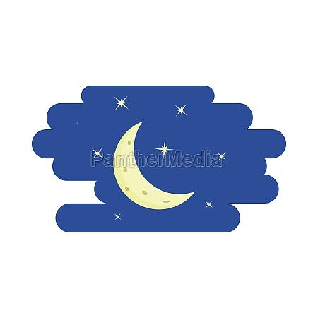 symbol im cartoon stil auf weissem