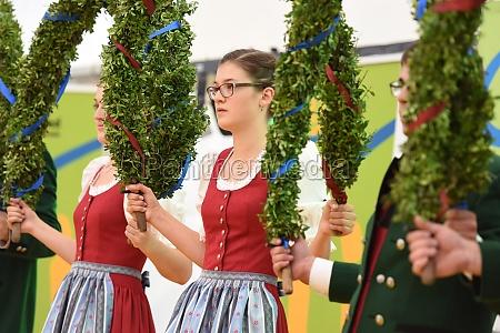 Öffentliche, aufführung, österreichische, österreichische, volkstänze, beim - 29871504