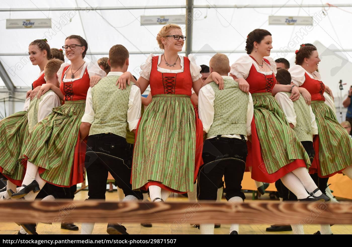Öffentliche, aufführung, österreichische, österreichische, volkstänze, beim - 29871507