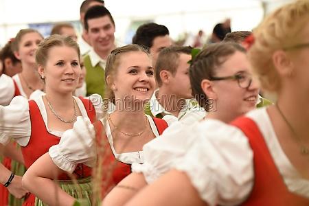 Öffentliche, aufführung, österreichische, österreichische, volkstänze, beim - 29871537