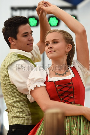 Öffentliche, aufführung, traditioneller, österreichischer, volkstänze, beim - 29871493