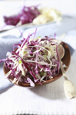 red, and, white, cabbage, salad - 29877139