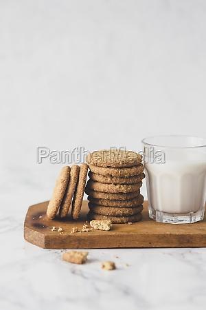 cookies, and, milk - 29878646