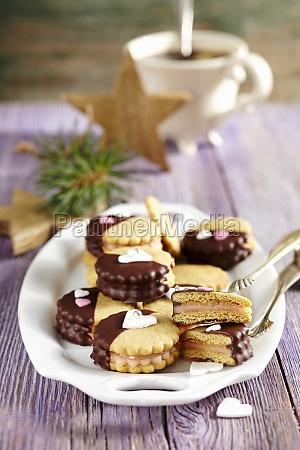 honigküsse, (piernicki, caluski, aus, polen), gefüllt - 29884248