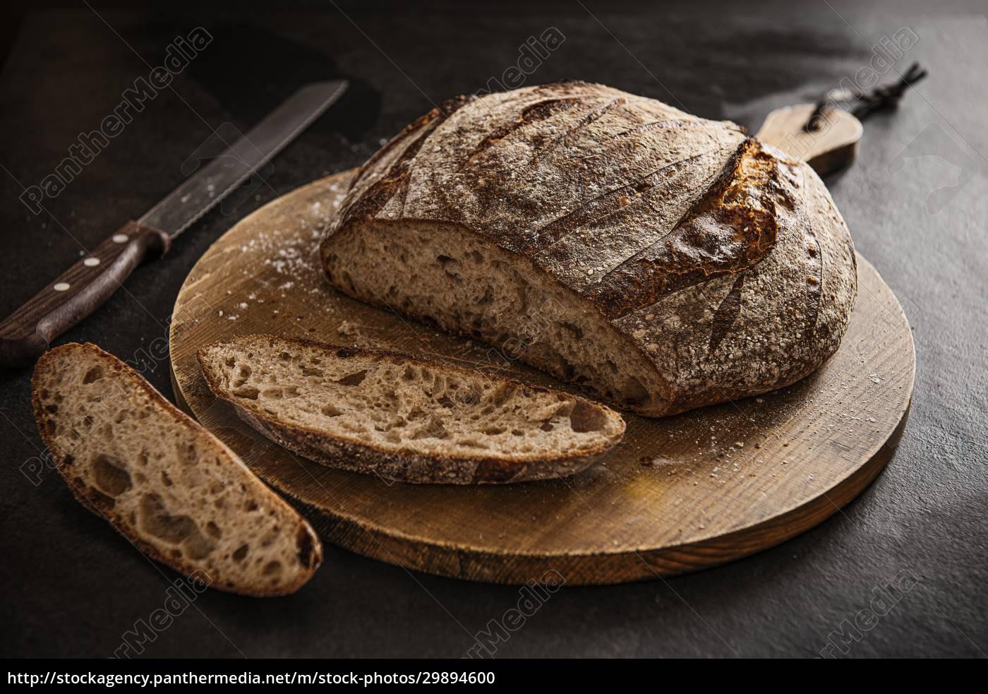 sour, dough, bread, sliced, on, a - 29894600
