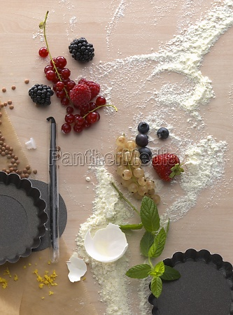a, still, life, with, baking, ingredients - 29895288