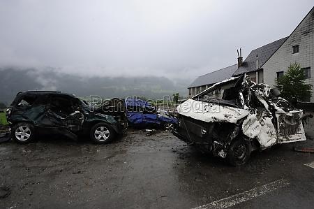 autowrack nach autounfall mit totalschaden