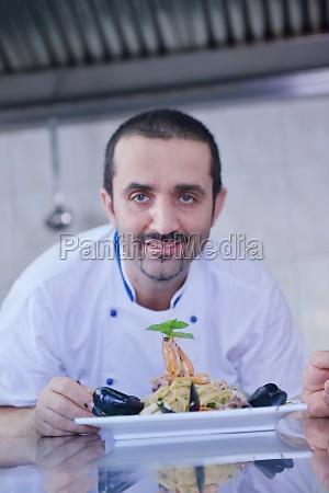 chef, preparing, food - 29923407