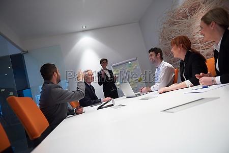 business-people-gruppe, bei, meetings - 30026199