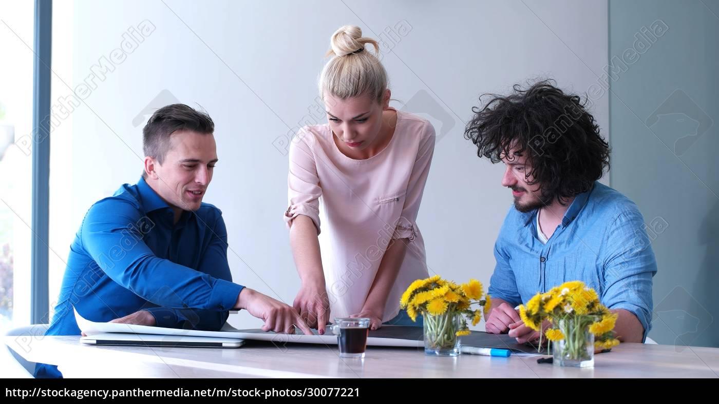 startup, business, team, bei, einem, meeting - 30077221