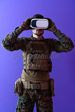 soldat virtuelle realitaet