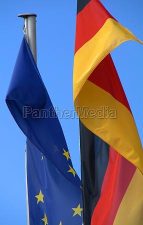 europaeische deutsche flagge