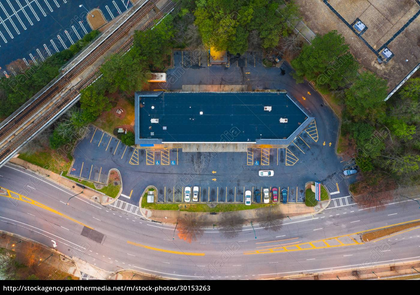 aerial, view, of, the, parking, lot - 30153263