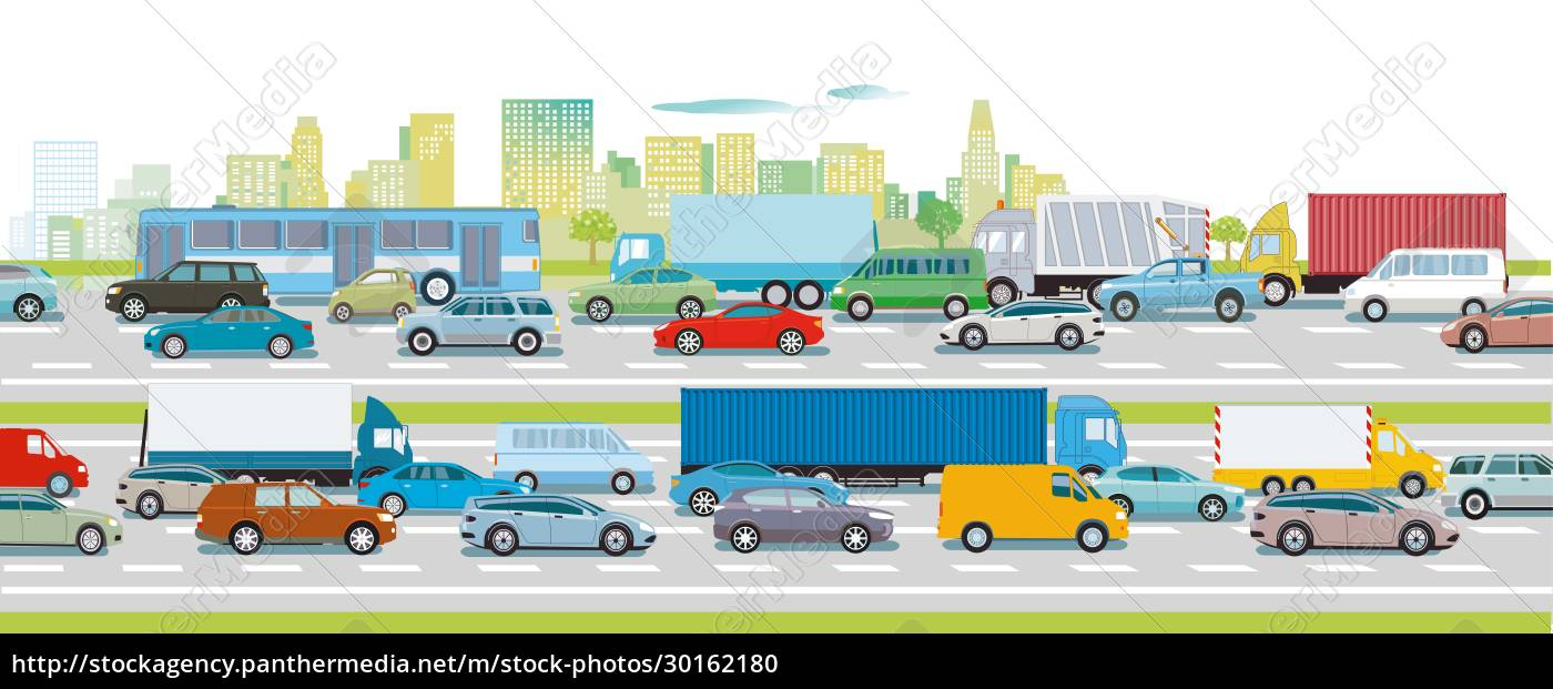road, traffic, on, the, highway, in - 30162180