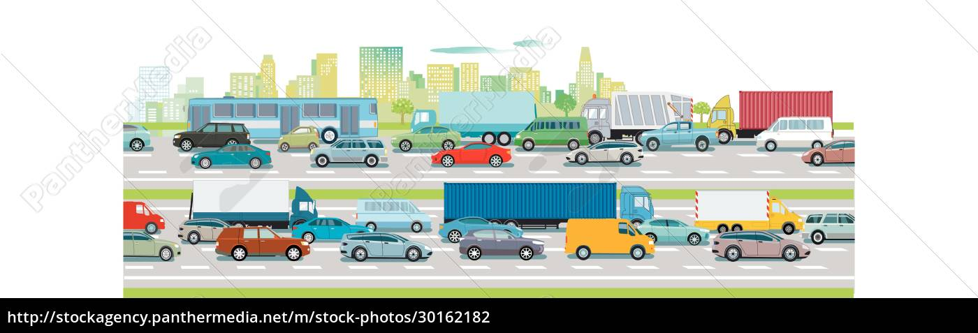 road, traffic, on, the, highway, in - 30162182