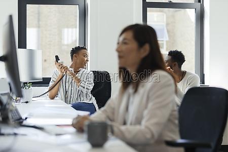 business, people, talking, in, open, plan - 30217517