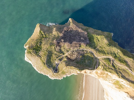 aerial, view, of, falaises, d'etretat, , a - 30242234