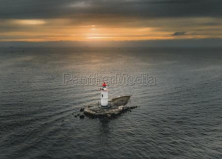 luftaufnahme, von, tokarevskaya, katze, leuchtturm, auf - 30242699
