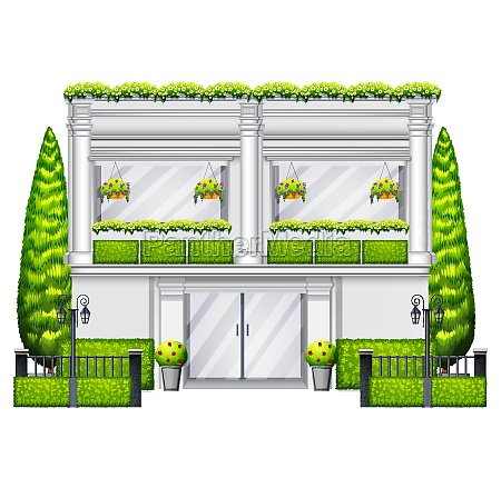a, commercial, building, with, plants - 30272150