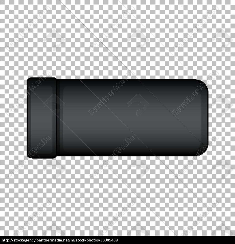 produktdesign-vorlage, der, flasche, ohne, grafik - 30305409