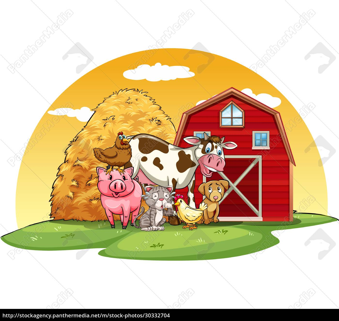 animals, farm - 30332704