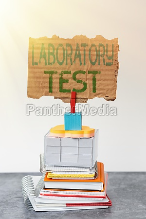 hand, writing, sign, laboratory, test., conceptual - 30457278