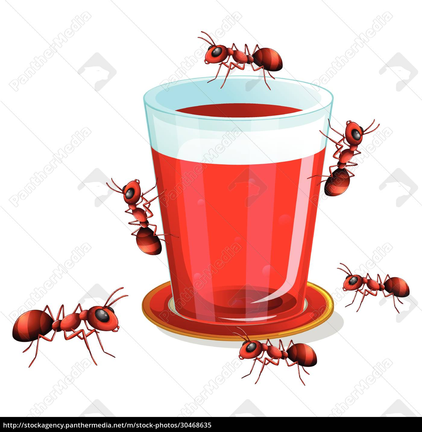 juice, and, ants - 30468635