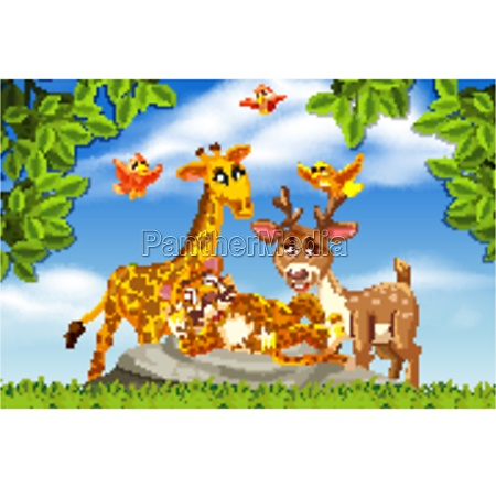 cute, animals, in, nature, scene - 30516587