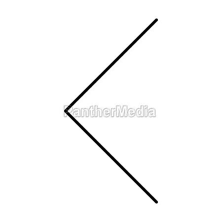 left, arrow, symbol, icon, vector, for - 30516843