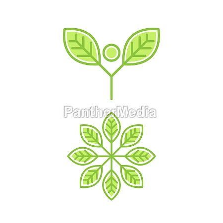 veganes element vektor icon design illustration