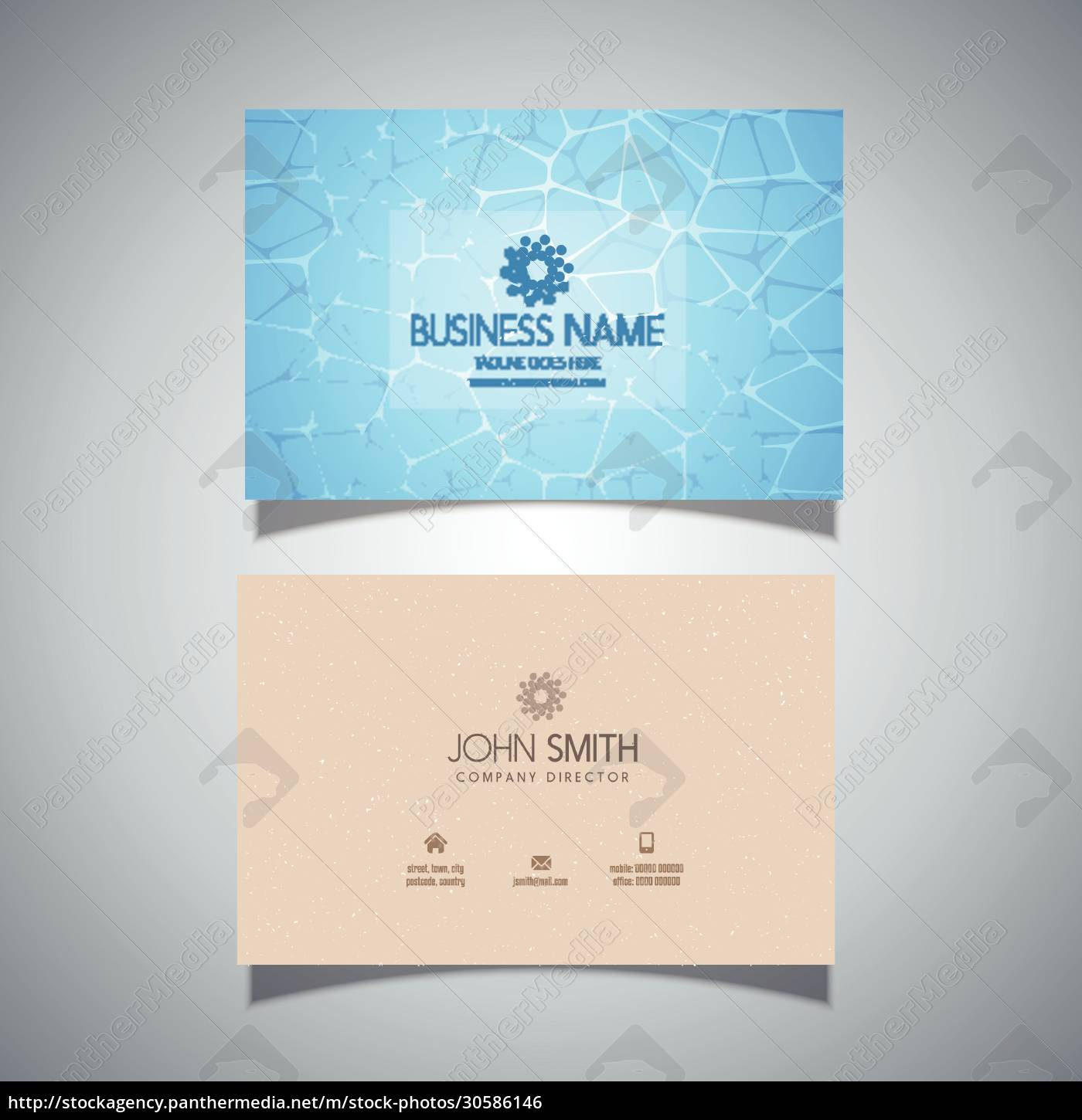 business, card, with, swimming, pool, water - 30586146