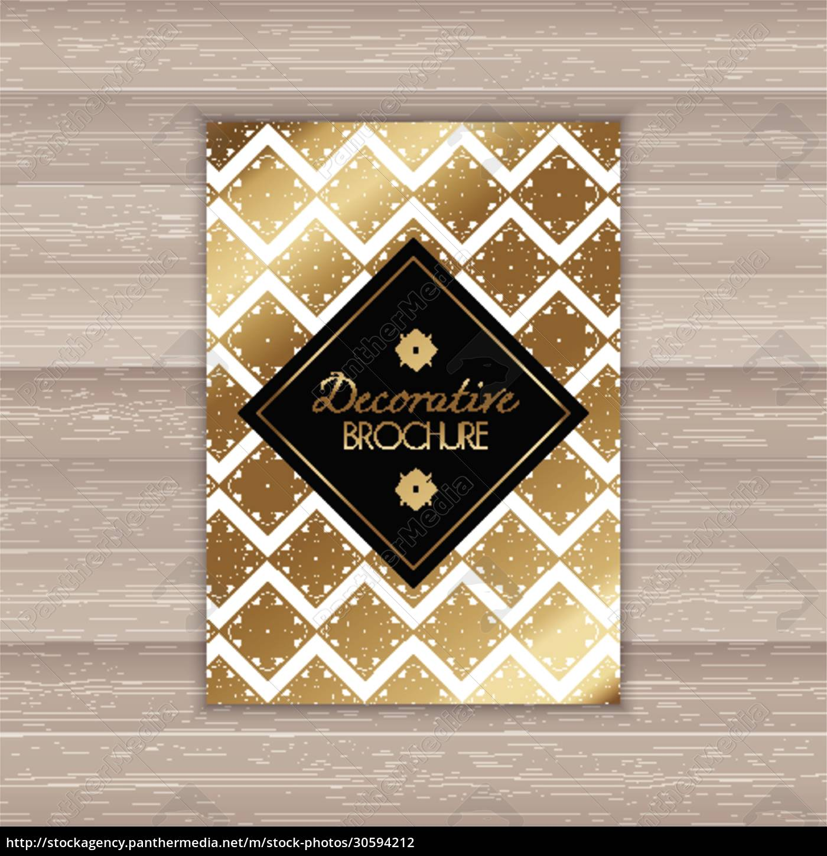 decorative, brochure, design - 30594212