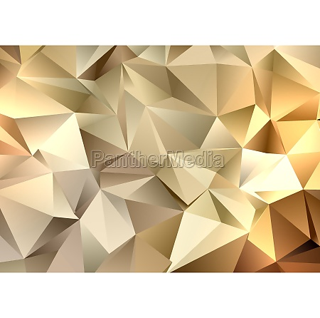 golden, low, poly, geometric, background, 3012 - 30606366