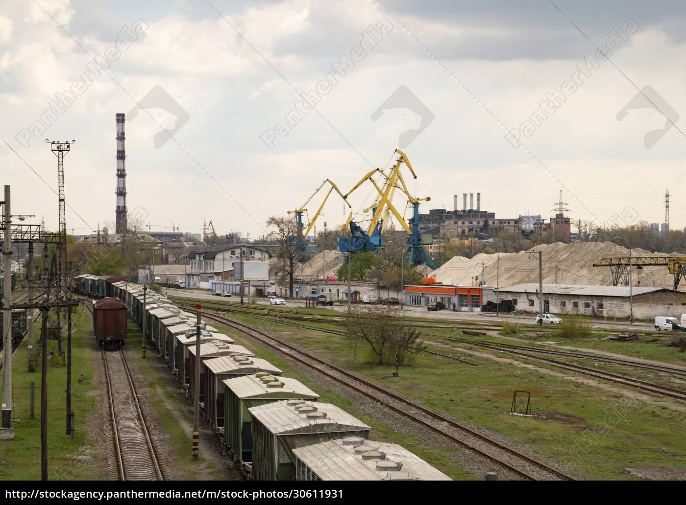 railroad, infrastructure, -, freight, train, station - 30611931
