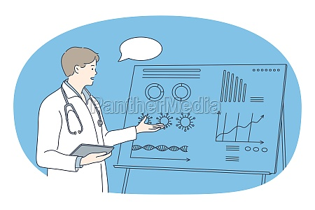 medical, research, and, presentation, concept - 30618430