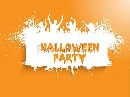 grunge, halloween, party, background - 30637988