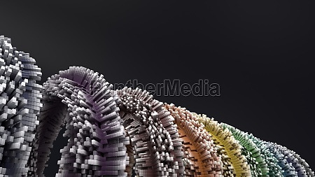 3d, geometric, abstract, background - 30647068