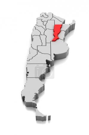 Isoliert, Gestalt, Erleichterung, Land, Karte, Kartographie - B165288316