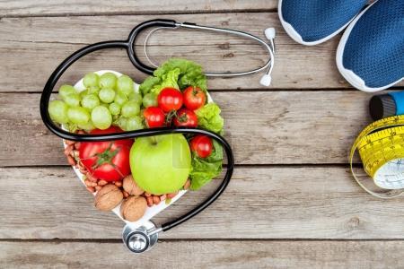 niemand, Holz, Platte, lecker, Gesundheitswesen, vegetarisch - B160465098