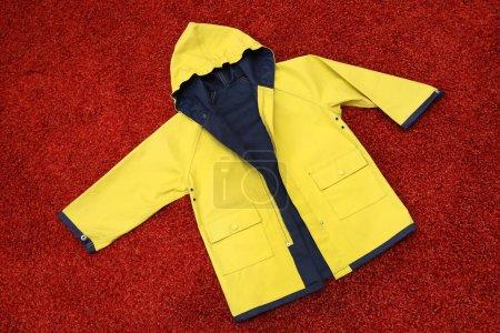 gelb, Kleidung, Schutz, Kleid, Motorhaube, Jacke - B359062936