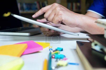 tisch computer hintergrund papier technologie vorbereitung