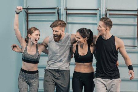 Sport, Aktivität, glücklich, Jung, Lächelnd, Erwachsene - B142988161