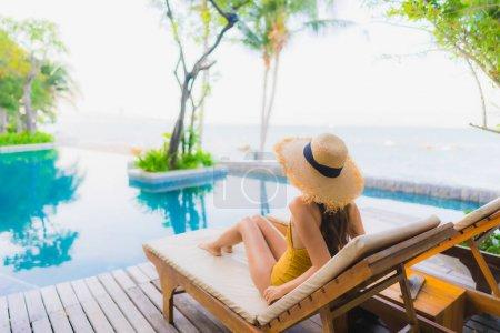 Schwimmbad, Freizeit, Blau, Schön, Urlaub, Person - B334521708